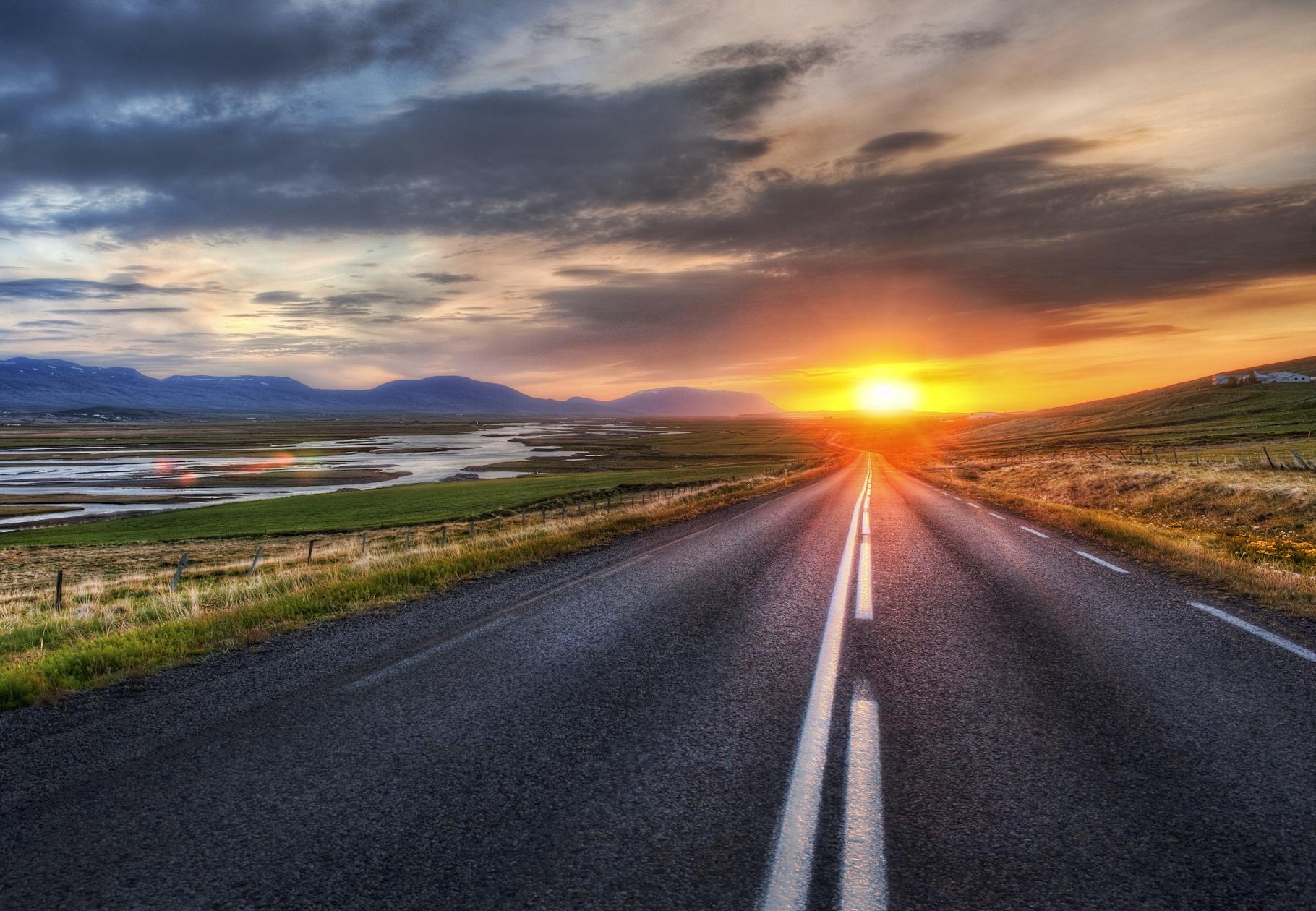 A long road....a lambent end
